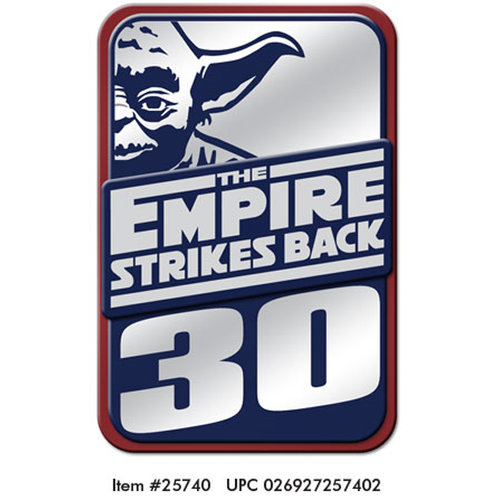 Creative Imaginations - Star Wars Empire Strikes Back Collection - Layered Chipboard Sticker with Foil Accents - Empire Strikes Back