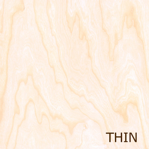 Creative Imaginations - Real Wood Collection - 12 x 12 Thin Wood Veneer Paper - Birch