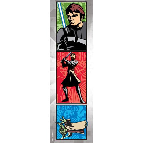 Creative Imaginations - Star Wars Clone Wars Collection - Cardstock Stickers - Heroes