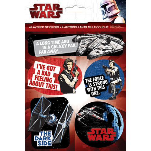 Creative Imaginations - Star Wars Collection - Layered Cardstock Stickers - Star Wars