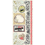 Creative Imaginations - Loolah Collection - Jumbo Cardstock Stickers - Loolah