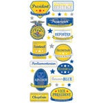 Creative Imaginations - FFA Convention Collection - Cardstock Stickers - Cabinet