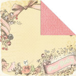 Creative Imaginations - Lullaby Girl Collection - 12 x 12 Double Sided Paper - Our Baby