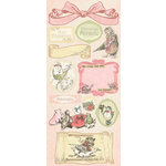 Creative Imaginations - Lullaby Girl Collection - Cardstock Stickers - Lullaby Girl