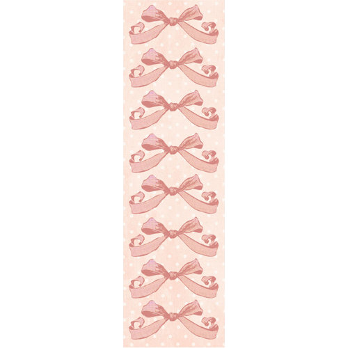 Creative Imaginations - Lullaby Girl Collection - Cardstock Stickers - Pink Bows