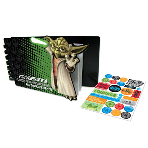 Creative Imaginations - Star Wars Collection - Souvenir Album - Yoda