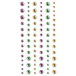 Creative Imaginations - Marrakesh Collection - Self Adhesive Gems - Marrakesh