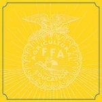 Creative Imaginations - FFA Convention Collection - 12 x 12 Paper - Yellow Emblem