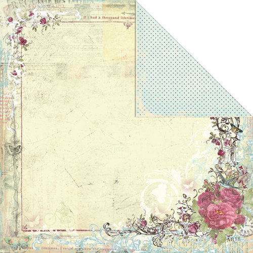 Creative Imaginations - Provencial Collection - 12 x 12 Double Sided Paper - Jolie