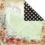 Creative Imaginations - Devotion Collection - 12 x 12 Double Sided Paper - Wave