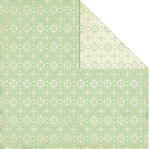 Creative Imaginations - Devotion Collection - 12 x 12 Double Sided Paper - Eden
