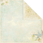 Creative Imaginations - Beach Cottage Collection - 12 x 12 Double Sided Paper - Seaside Escape