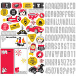 Creative Imaginations - Magic Attractions Collection - 12 x 12 Cardstock Stickers with Foil Accents