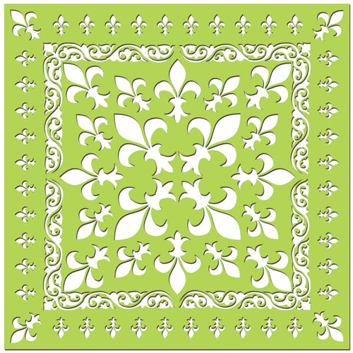 Creative Imaginations - Existencil Expressions Collection - 12 x 12 Stencil Sheet - Monarch