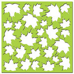 Creative Imaginations - Existencil Expressions Collection - 6 x 6 Stencil Sheet - Floral