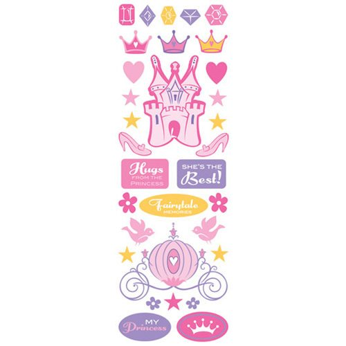 Creative Imaginations - Cardstock Stickers - Princess Jewels