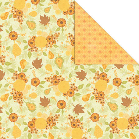 Creative Imaginations - Orchard Harvest Collection - 12 x 12 Double Sided Paper - Orchard Harvest