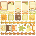 Creative Imaginations - Orchard Harvest Collection - 12 x 12 Cardstock Stickers - Orchard Harvest
