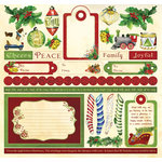 Creative Imaginations - Dear Santa Collection - Christmas - 12 x 12 Cardstock Stickers - Dear Santa