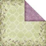 Creative Imaginations - Winter Song Collection - 12 x 12 Double Sided Paper - Winter Trellis