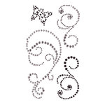 Creative Imaginations - Cheers Collection - Bling - Self Adhesive Gems - Smoky Swirl