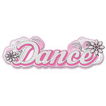 Creative Imaginations - Dance Collection - 3 Dimensional Title Stickers with Glitter Accents - Dance