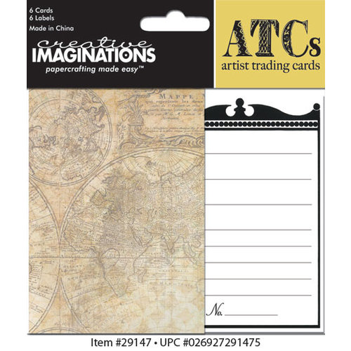 Creative Imaginations - Life's Journey Collection - Artist Trading Cards