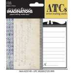Creative Imaginations - Oceanside Collection - Artist Trading Cards