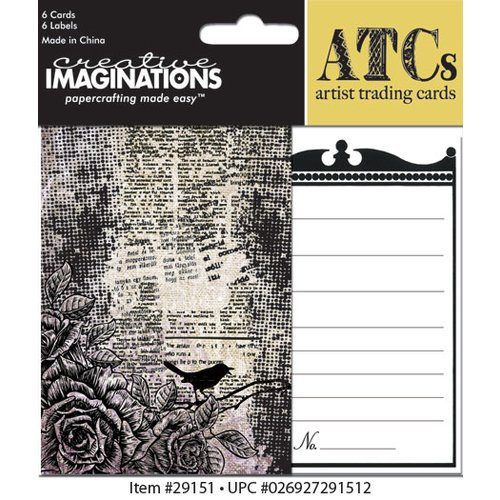 Creative Imaginations - Life as Art Collection - Artist Trading Cards