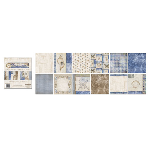 Creative Imaginations - Oceanside Collection - 6 x 6.75 Paper Pad