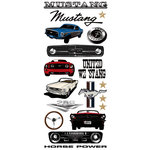 Creative Imaginations - Ford Enthusiast Collection - Cardstock Stickers - Mustang