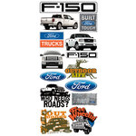 Creative Imaginations - Ford Enthusiast Collection - Cardstock Stickers - Ford F-150