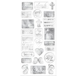 Creative Imaginations - Heaven Sent Collection - Chipboard Stickers - Heaven Sent