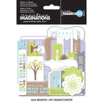 Creative Imaginations - Family Matters Collection - Die Cut Cardstock Pieces