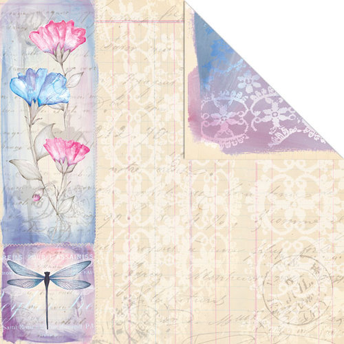 Creative Imaginations - Beautiful You Collection - 12 x 12 Double Sided Paper - Beautiful You