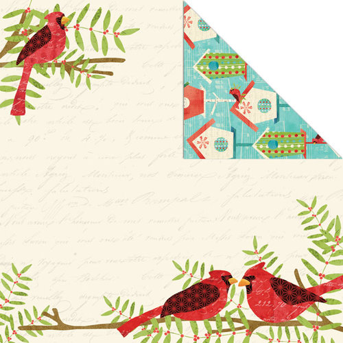 Creative Imaginations - Holiday Joy Collection - Christmas - 12 x 12 Double Sided Paper - Being Together