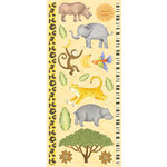 Creative Imaginations - Wild Side Collection - Cardstock Stickers