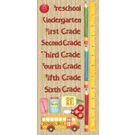 Creative Imaginations - Back 2 School Collection - Cardstock Stickers