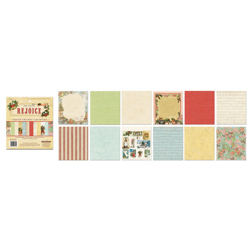 Creative Imaginations - Rejoice Collection - Christmas - 6 x 6.75 Paper Pad