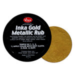 Splash of Color - Viva Colour - Inka Gold Metallic Rub - Gold