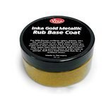 Splash of Color - Viva Colour - Inka Gold Metallic Rub Base Coat - Gold