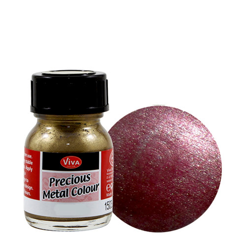 Splash of Color - Viva Colour - Precious Metal Effect Paint - Blackberry