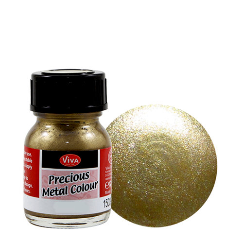 Splash of Color - Viva Colour - Precious Metal Effect Paint - Gold