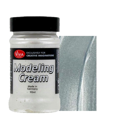 Splash of Color - Viva Colour - Modeling Cream - Dimensional Paint - Silver