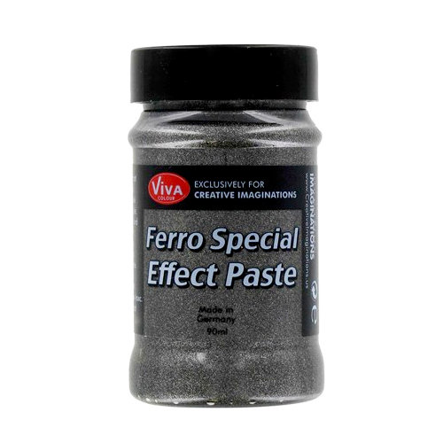 Splash of Color - Viva Colour - Ferro Special Effect Paste - Graphite