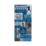 Splash of Color - All Baseball Collection - Cardstock Stickers