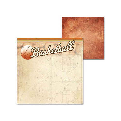 Splash of Color - All Hoops Collection - 12 x 12 Double Sided Paper - All Hoops
