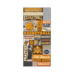 Splash of Color - All Hoops Collection - Cardstock Stickers