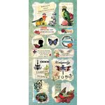 Splash of Color - Le Jardin Collection - Cardstock Stickers