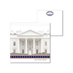 Splash of Color - Washington DC Collection - 12 x 12 Double Sided Paper - White House